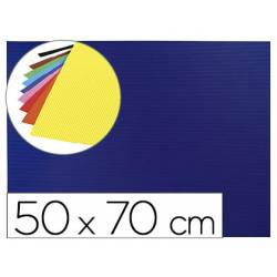 Goma eva Ondulada Liderpapel 50x70 cm color Azul oscuro