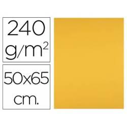 Cartulina Liderpapel Oro Viejo 50x65 cm 240 gr Paquete de 25 unidades