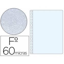 Funda Multitaladro Esselte Tamaño Folio Piel de Naranja 16 taladros 60 MC