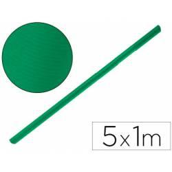 Bobina Papel Kraft Liderpapel de 5x1 m Verde fuerte