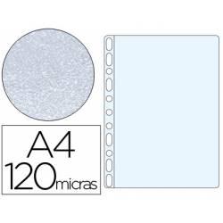 Funda Multitaladro Q-Connect DIN A4 120 MC Piel de Naranja Caja 100