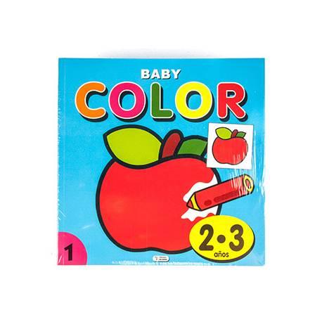 Cuaderno de Colorear Baby Color 2 a 3 años 96 páginas