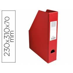 Revistero Plastico Exacompta color Rojo 310x230x70 mm