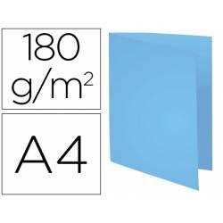 Subcarpeta Cartulina Reciclada DIN A4 Exacompta Azul 170 gr