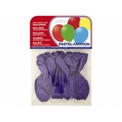 Globos Pastel Lila Bolsa de 20 unidades