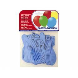 Globos Pastel Azul Bolsa de 20 unidades