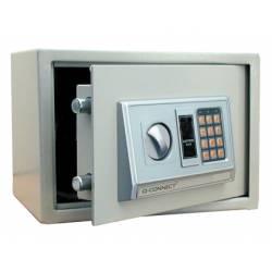 Caja fuerte Q-Connect Código de combinacion de 10L 310x200x200mm Accesorios de fijacion