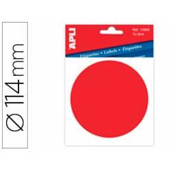 Etiqueta adhesiva de Apli Punto rojo