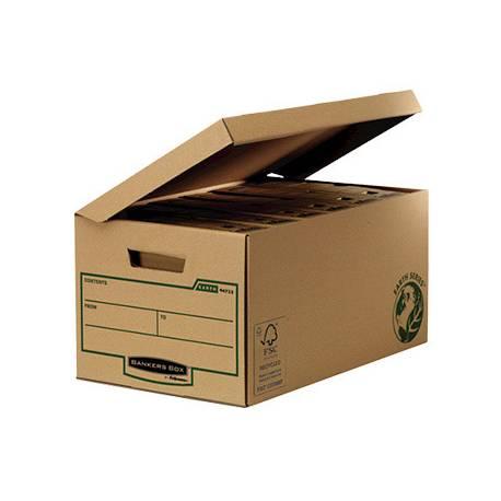 Cajon Fellowes carton Reciclado capacidad 6 cajas archivo 80 mm