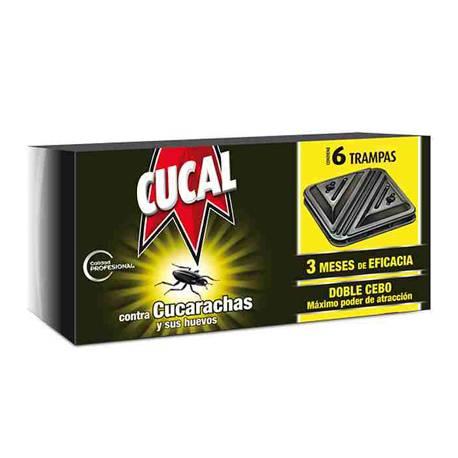 Insecticida pastillas cucarachas marca Cucal