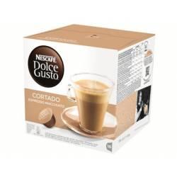 Cafe Nestle Dolce Gusto descafeinado cortado Caja 16 capsulas