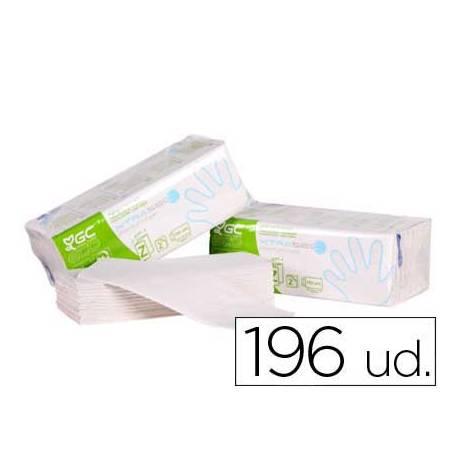 Toalla de papel mano engarzadas ecologica 20 x 23 cm