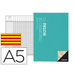 Cuaderno de notas Additio de profesor catalan A5