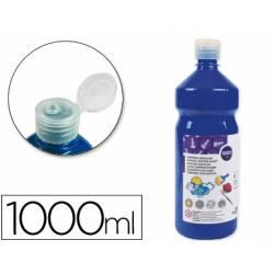 Tempera Liderpapel color azul marino 1000 cc