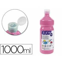 Tempera Liderpapel color rosa 1000 cc
