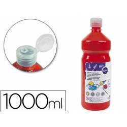 Tempera Liderpapel color rojo 1000 cc