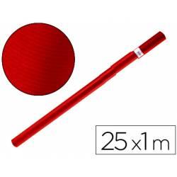 Bobina papel tipo kraft Liderpapel 25 x 1 m rojo cherry