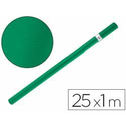 Bobina papel tipo kraft Liderpapel 25 x 1 m verde musgo
