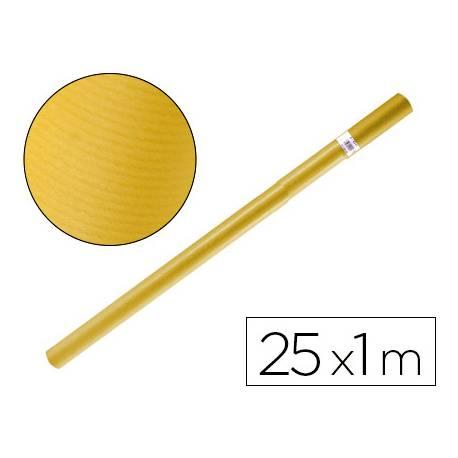 Bobina papel tipo kraft Liderpapel 25 x 1 m amarillo