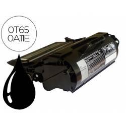 Toner Lexmark 0T650A11E color negro