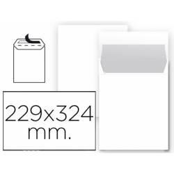 Sobre bolsa Liderpapel C4 Blanco 229 X 324 mm Caja 25