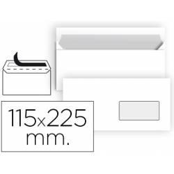 Sobre Americano Liderpapel N4 Blanco 115 x 225 mm Caja 25