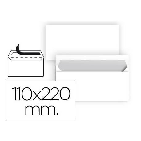 Sobre Americano Liderpapel N2 Blanco 110 x 220 mm Caja 25