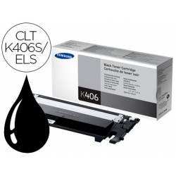 Toner Samsung CLT-K406S/ELS Color Negro Impresora CLP-365