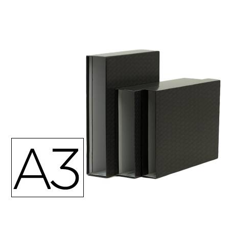 Caja archivador Elba de carton tamaño din A3 apaisados