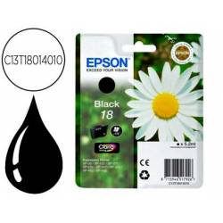 Cartucho Epson C13T18014010 color negro. Epson 18xl black