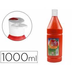 Tempera liquida JOVI color bermellon 1000 cc