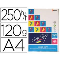 Papel multifuncion Mondi Color Copy A4 120 gr/m2 Satinado