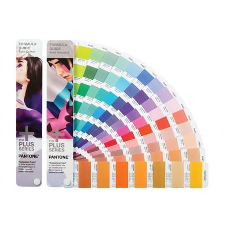 Guia de colores Pantone plus Formula guide con software