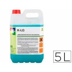 Limpiador multiusos garrafa de 5 litros