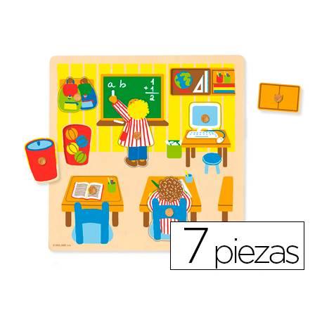 Puzzle a partir de 1 año Escuela Goula
