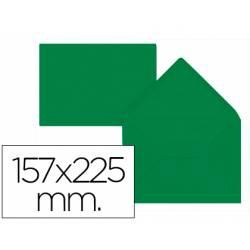 Sobre liderpapel C5-EA5 color verde acebo