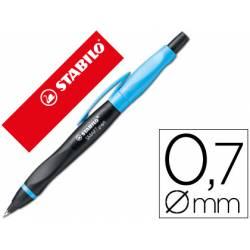 Portaminas Stabilo smartgraph 0,7 mm Cuerpo Azul y negro