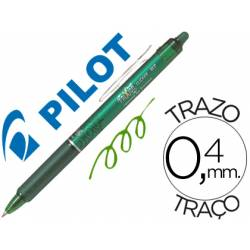 Boligrafo Borrable Pilot Frixion retractil 0,4 mm Color Verde