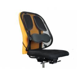 Respaldo ergonomico marca Fellowes mesh profesional apoyo lumbar ajustable