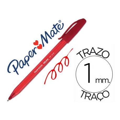 Bolígrafo Paper Mate Inkjoy 100 1 mm rojo