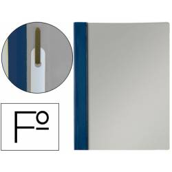 Carpeta dossier fastener Esselte PVC rigido Folio color azul marino