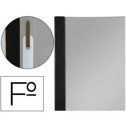 Carpeta dossier fastener Esselte PVC rigido Folio color negro