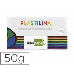 Plastilina Liderpapel color blanco Pequeña