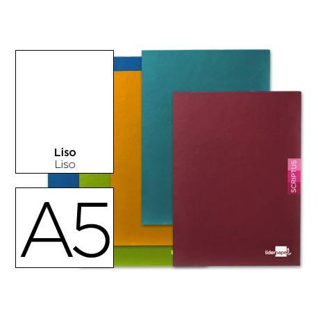 Libreta escolar Liderpapel Scriptus liso tamaño DIN A5