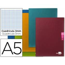 Libreta escolar Scriptus Liderpapel cuadricula 3mm 48 hojas tamaño DIN A5