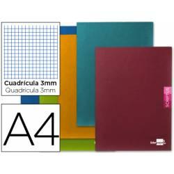 Libreta escolar Liderpapel Scriptus cuadricula 3mm tamaño DIN A4 48 hojas
