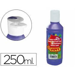 Tempera liquida JOVI color violeta 250 cc