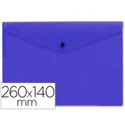 Carpeta tamaño sobre Liderpapel broche azul