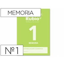 Cuaderno Rubio Memoria 1 Estimulación Cognitiva