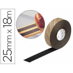 Cinta antideslizante marca 3M 18 m x 25 mm